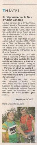 Ouest France, 9 juillet 2012