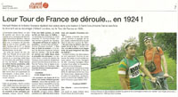 Ouest France, 10 juillet 2012